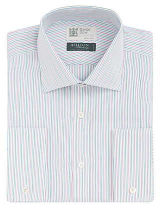 Pure Cotton Fine Multi-Striped Shirt Clothing