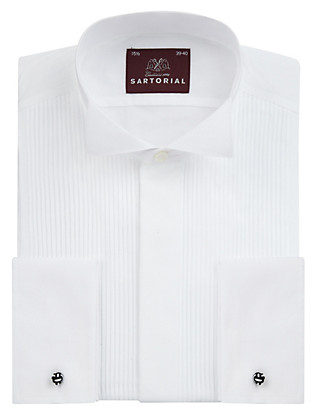Classic Wing Collar Dinner Shirt Clothing