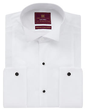 2in Longer Pure Cotton Marcella Dinner Shirt