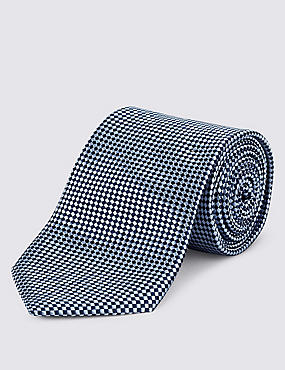 Pure Silk Square Textured Tie