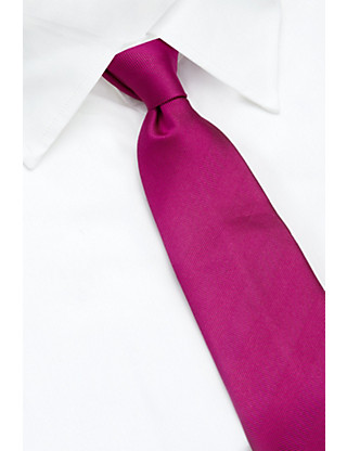 Pure Silk Textured Striped Tie Clothing