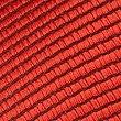 Twill Tie, RED, swatch