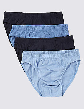4 Pack Pure Cotton Cool & Fresh™ Slips with StayNEW™