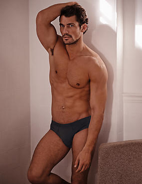 2 Pack 4-Way Stretch Cotton Briefs