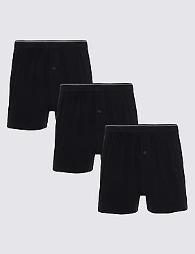 XXXL 3 Pack Pure Cotton Cool & Fresh™ Boxers
