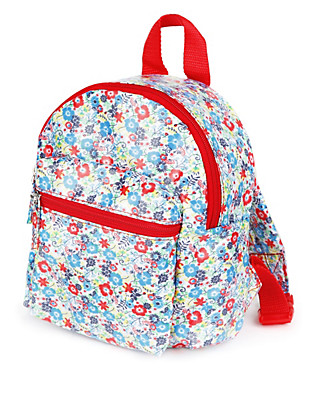 Floral Mini Rucksack (Younger Girls) Clothing