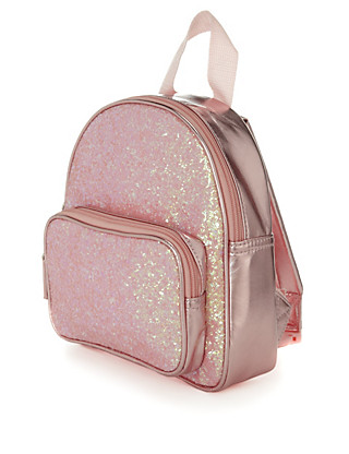 Sequin Embellished Rucksack (Younger Girls) Clothing