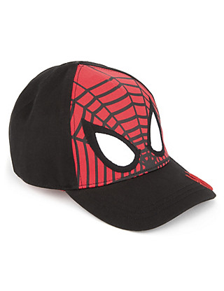 Pure Cotton Spiderman™ Cap (Younger Boys) Clothing