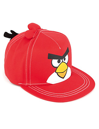 Pure Cotton Angry Birds™ Baseball Cap (Older Boys) Clothing