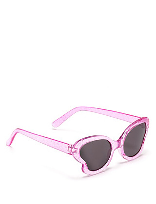 Butterfly Glitter Kids Sunglasses (Younger Girls) Clothing