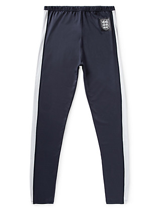 Official England FA 3 Lions Trousers with Body Sensor™ (5-16 Years) Clothing