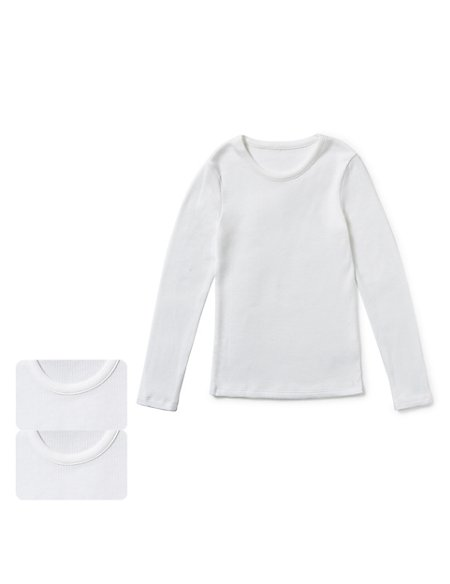 Long Sleeve Thermal Vests (18 Months - 16 Years)