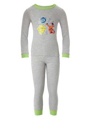 Moshi Monsters Soft & Cosy Thermal Vest & Trousers Set Clothing