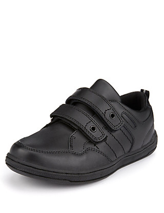 Coated Leather Cupsole Riptape Shoes (Younger Boys) Clothing