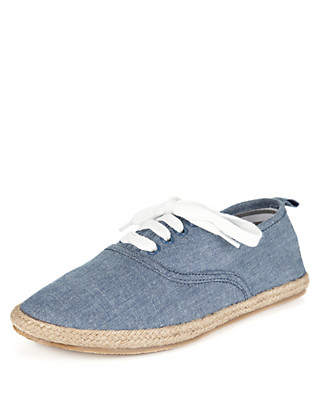 Lace Up Espadrilles Clothing