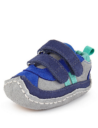 Suede Pram Trainers Clothing