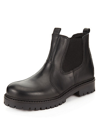 Leather Chelsea Boots (Younger Boys) Clothing