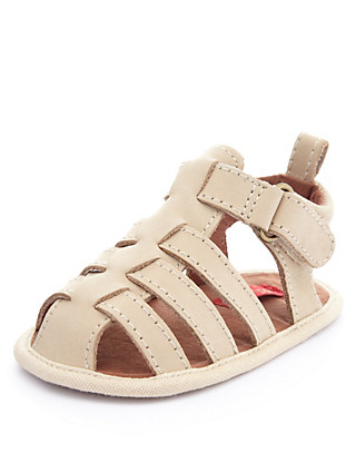 Leather Multi-Strap Fisherman Sandals Clothing