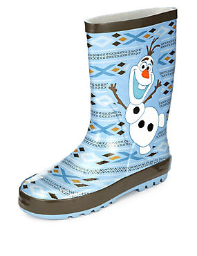 Kids' Disney Frozen Olaf Welly Boots