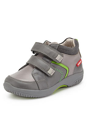 Kids' Walkmates Leather Sporty Riptape Boots