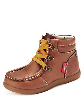 Kids' Leather Walkmates Hiker Boots