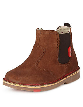 Kids' Walkmates Suede Chelsea Ankle Boots