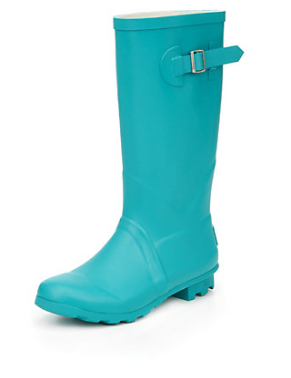 Buckle & Strap Welly Boots (Older Girls) Clothing