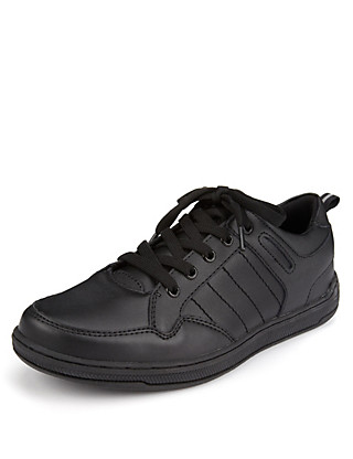Freshfeet™ Scuff Resistant Leather Cupsole Shoes with Silver Technology (Older Boys) Clothing
