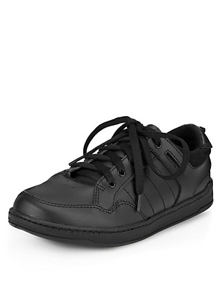 Scuff Resistant Leather Cupsole Trainers (Older Boys) Clothing