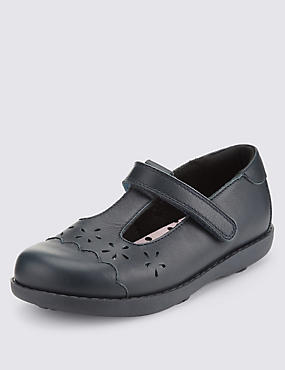 Kids' Freshfeet™ Leather School Shoes with Silver Technology