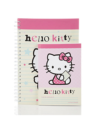 Hello Kitty Set of 2 Notebooks Clothing