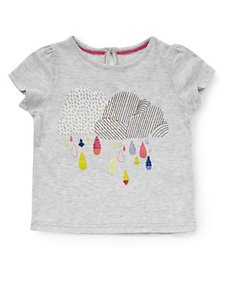 Raindrop Girls T-Shirt with StayNEW™ (1-7 Years) Clothing