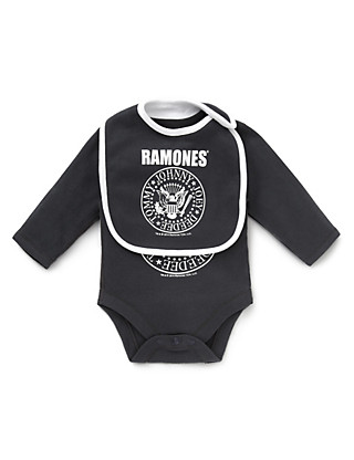 Ramones© Bodysuit with Bib Clothing