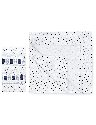 5 Pack Pure Cotton Assorted Muslin Cloths Clothing