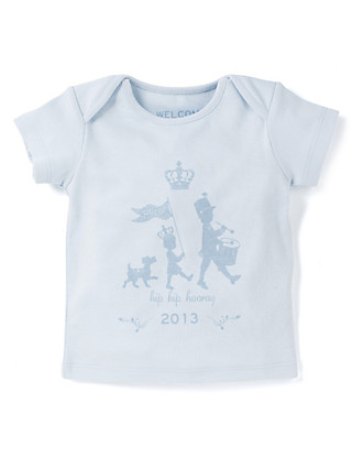Pure Cotton Royal Baby T-Shirt Clothing