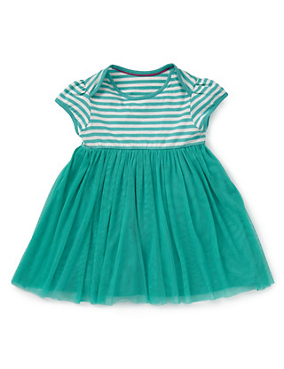 Pure Cotton Striped Tutu Dress Clothing
