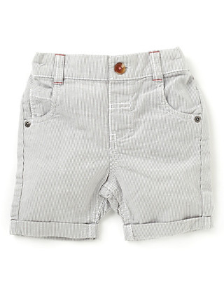 Pure Cotton Striped Shorts Clothing