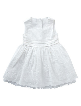 2 Piece Pure Cotton Shiffly Embroidered Dress with Knickers Clothing