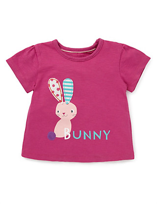 Pure Cotton Bunny T-Shirt Clothing