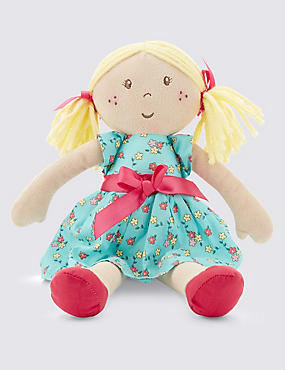 Small Blonde Haired Doll (34cm)
