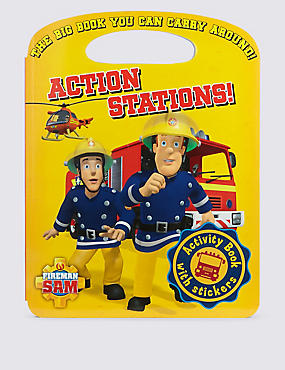 Fireman Sam™ Action Stations Carry Activity Book