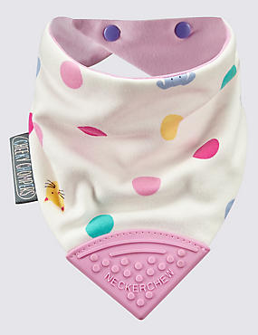 Joules Cat Dog Spot Dribble Bib