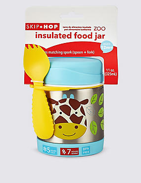 Zoo Insulated Food Jar - Giraffe
