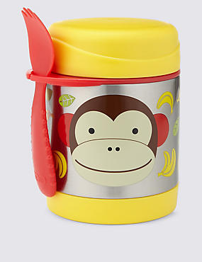 Zoo Monkey Insulated Food Jar