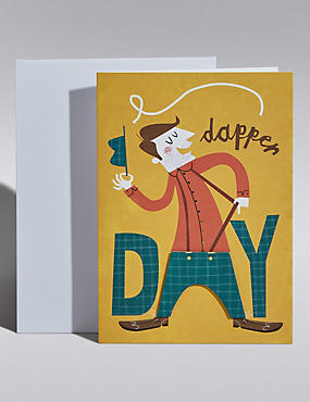 Dapper Day Birthday Card