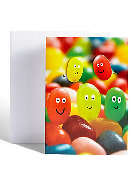 Jelly Bean Birthday Card