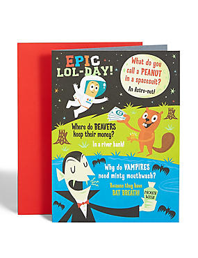 Funny Jokes Birthday Card
