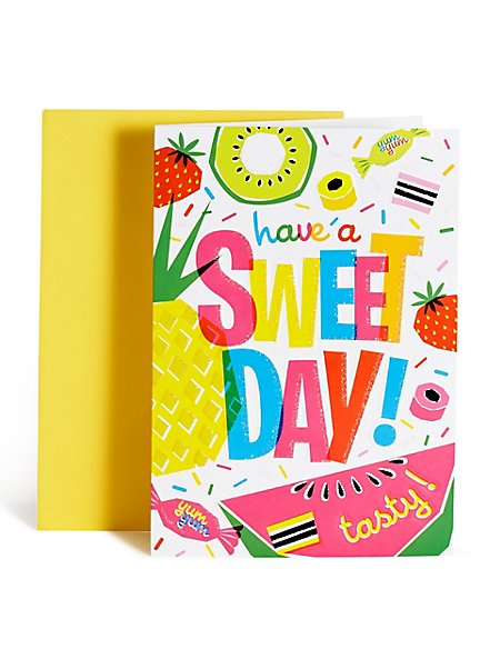Sweet Day Birthday Card