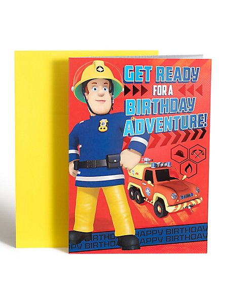 Fireman Sam™ Birthday Card
