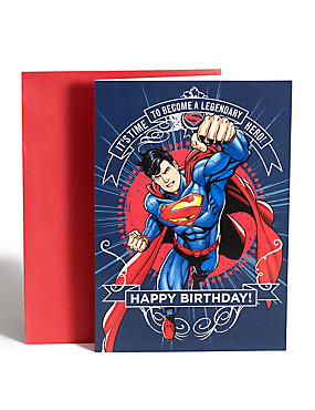 Superman™ Pop-Up Birthday Card